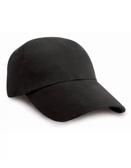 Junior Heavy Brushed Cotton Cap / Kappe / Mütze / Hut