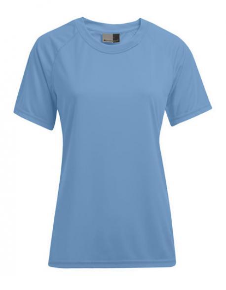 Damen Sport T-Shirt + Schweißabsorbierend