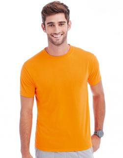 Crew Neck Herren Sport T-Shirt Active Cotton Touch