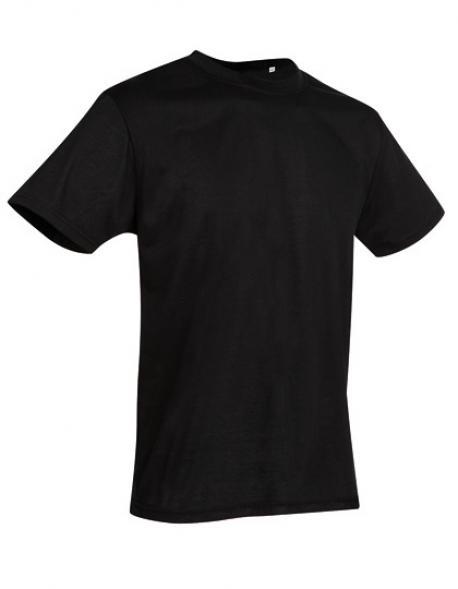 Crew Neck Herren Sport T-Shirt Active Cotton Touch