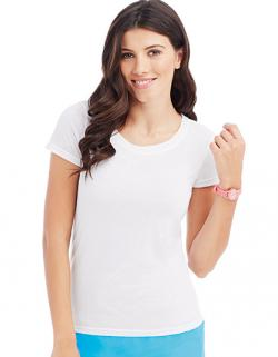 Damen Sport T-Shirt Active Cotton Touch