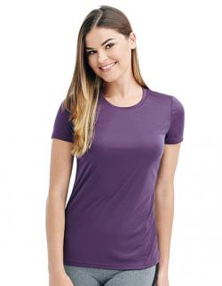 Damen Sport T-Shirt Crew Neck Active