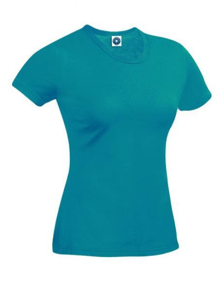 Damen Sport T-Shirt Performance + UV-Schutz