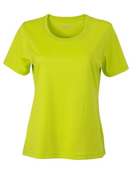 Ladies Active Sport T-Shirt + Atmungsaktiv