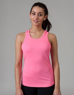 Girlie Cool Tank Top Sport T-Shirt + WRAP zertifiziert