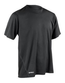 Mens Quick Dry Sport T-Shirt + Schnell trocknend