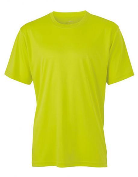 Mens Active Sport T-Shirt + Atmungsaktiv