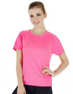 Ladies Sport T-Shirt + Atmungsaktiv
