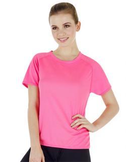 Ladies Sport T-Shirt + Atmungsaktiv