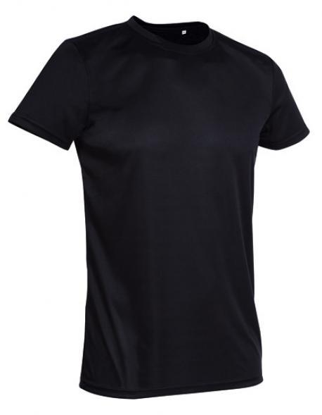 Crew Neck Active Sport-T-Shirt + ACTIVE-DRY