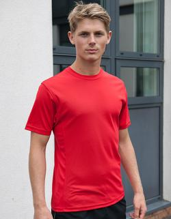 SuperCool Performance Sport T-Shirt + Zertifiziert nach WRAP