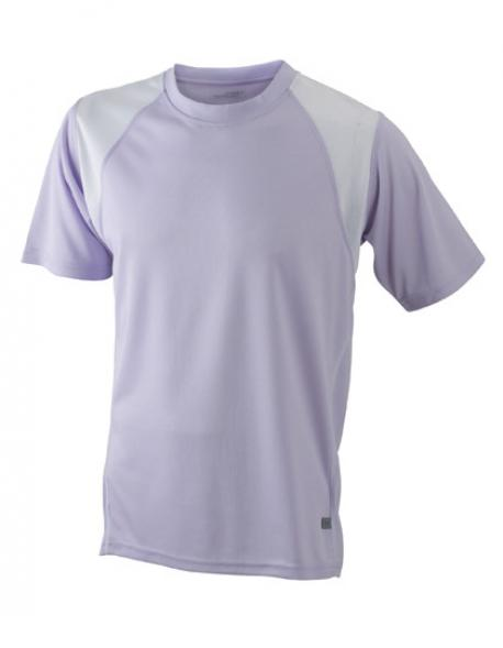 Men´s Running Sport T-Shirt + Atmungsaktiv