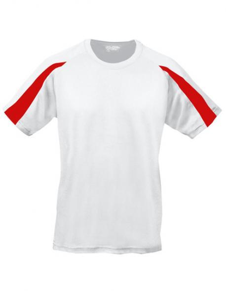 Contrast Cool Sport T-Shirt + WRAP zertifiziert
