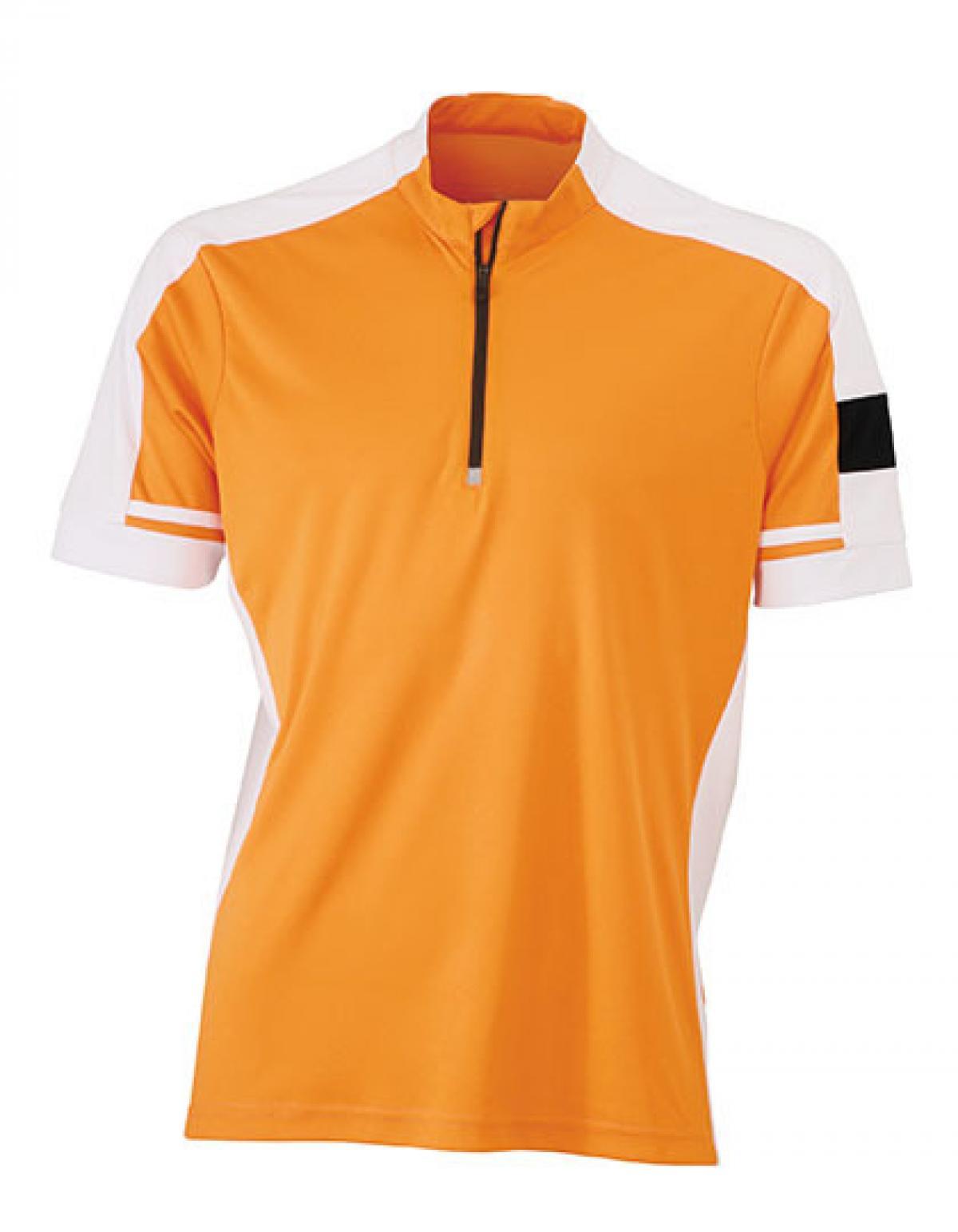 Men s bike sport t shirt half zip cooldry rexlander s for Mens sport t shirts