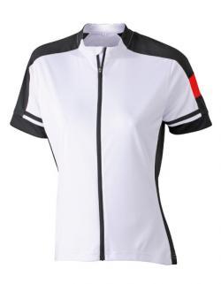 Damen Bike und Sport T-Shirt mit Reißverschluß