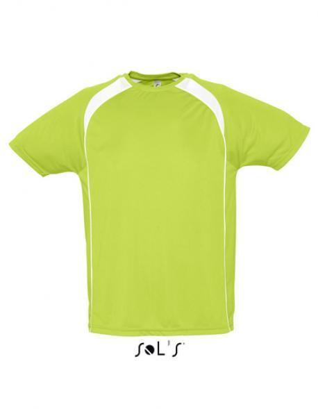 Mens Sport T-Shirt Match + Atmungsaktiv