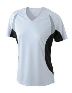 Damen Running Sport T-Shirt + Feuchtigkeitsregulierend