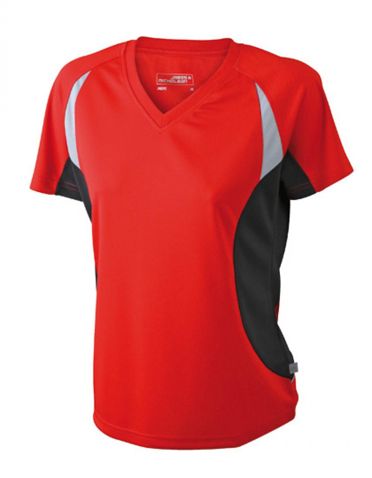 damen running sport t shirt feuchtigkeitsregulierend rexlander s. Black Bedroom Furniture Sets. Home Design Ideas