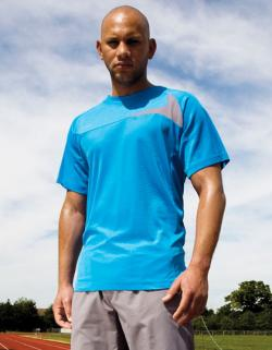 Mens Dash Training Sport T-Shirt + Cool-Dry