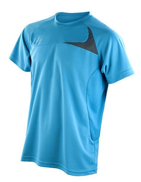 Mens Dash Training Sport T-Shirt + Cool-Dry