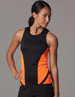 Damen Running Sport Tank Top T-Shirt + Atmungsaktiv