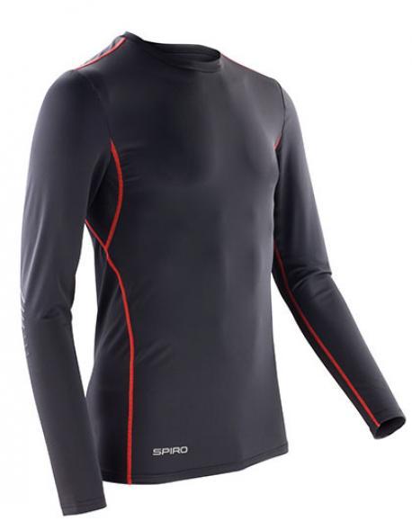 Compression Bodyfit Trainingsoberteil Longsleeve