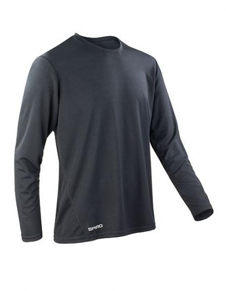 Mens Quick Dry Trainings Longsleeve T-Shirt