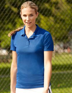 Performance Ladies Double Piqué Sport Damen Poloshirt