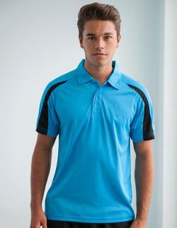 Contrast Cool Sport Poloshirt + WRAP zertifiziert