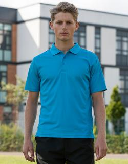 SuperCool Performance Sport Poloshirt + SuperCool-Material