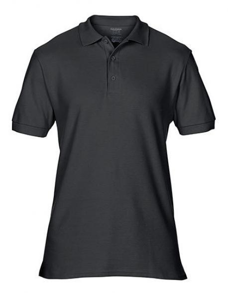 Premium Cotton Double Piqué Sport Polo T-Shirt