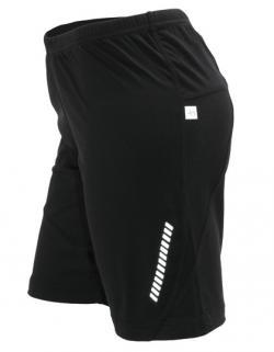Damen Lauf Sport Shorts + Atmungsaktiv