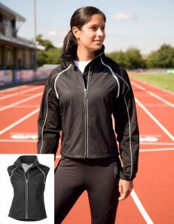Damen Sport Jacke mit abnehmbaren Ärmeln