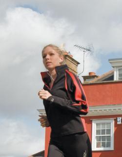 Ladies Sprint Top / Damen Langarm Sport-Oberteil