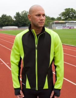 Mens Freedom Softshell Jacket / Trainings und Sport Jacke
