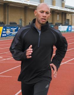 Mens Sprint Base Top / Trainings und Sport Longsleeve