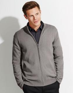 Zipped Knitted Cardigan Gordon Men