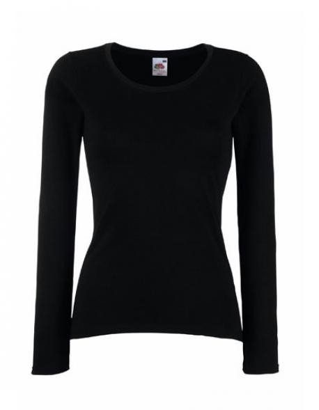 Lady-Fit Valueweight Long Sleeve Damen T-Shirt
