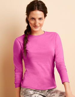 Softstyle Ladies´ Long Sleeve Damen T-Shirt