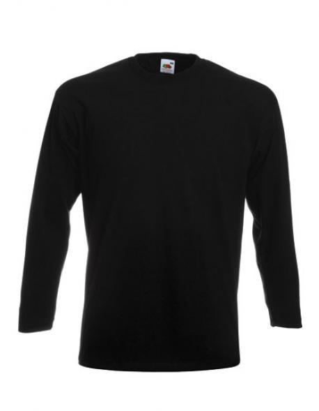 Premium Longsleeve Herren T-Shirt + Waschbar bis 60 °C