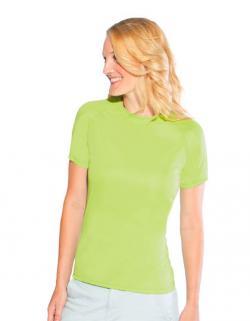Ideal veredeln mit ihrem LogoSPIRO Damen Impact Softex® T-Shirt